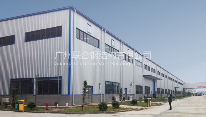 Gaoming Vanward joint workshop steel structure